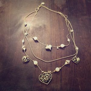 Betsey Johnson Layered Necklace